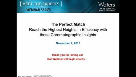 Find the Perfect Match: Reach the Highest Heights in Efficiency with these Chromatographic Insights