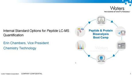 Internal Standard Options for Peptide LC-MS Quantification - Part 1