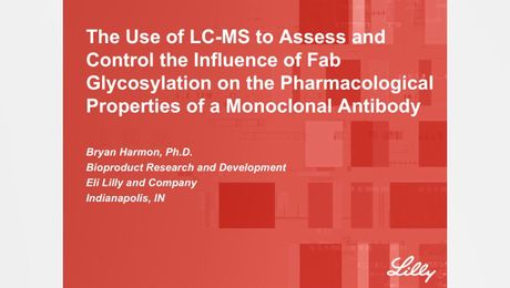 The Use of LC-MS to Assess and Control the Influence of Fab Glycosylation