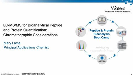 LC-MS/MS for Bioanalytical Peptide and Protein Quantification: Chromatographic Considerations