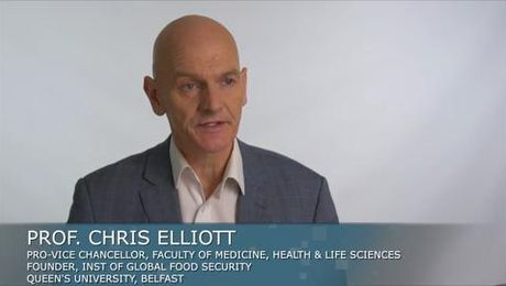 Chris Elliott on Improving Human Health through Nutrition and Food Integrity