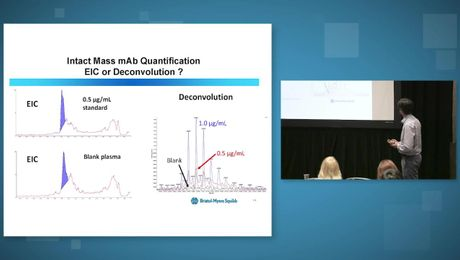 ASMS Seminar: High Resolution Mass Spectrometry for Quantitative and Qualitative (Quant/Qual) Bioanalysis of Antibody-based Therapeutics using Intact mAb and Subunit Detection
