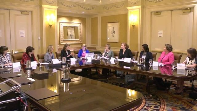 Carla Smith remarks on Women in Health IT Roundtable at HIMSS16