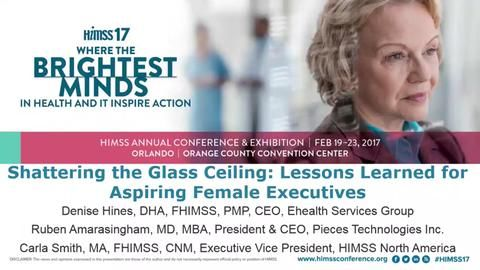 (SESSION) Shattering the Glass Ceiling: Lessons Learned for Aspiring Female Executives