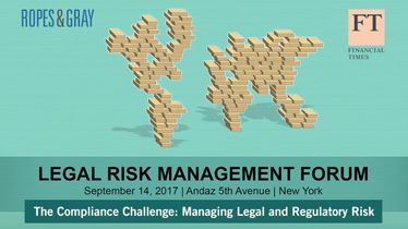 The compliance challenge: managing legal & regulatory risk