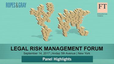 Legal Risk Management Forum: panel highlights