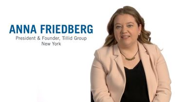 A chat with R&G alum Anna Friedberg