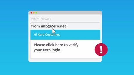 Security Advice from Xero
