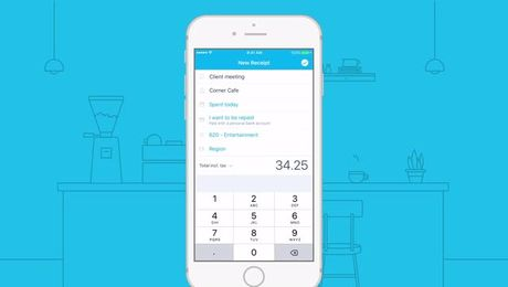How to capture expenses with Xero for iPhone