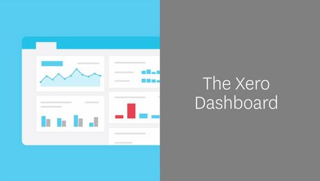 The Xero Dashboard - keep track of small business finances