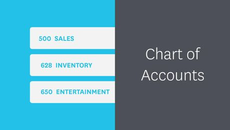 The Chart of Accounts in Xero