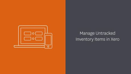 Managing & Importing Untracked Inventory Items in Xero