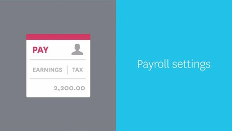 How to configure payroll settings (Australia)