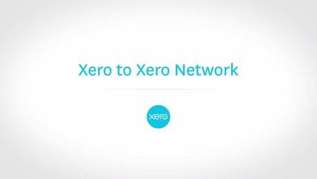 Using the Xero to Xero Network