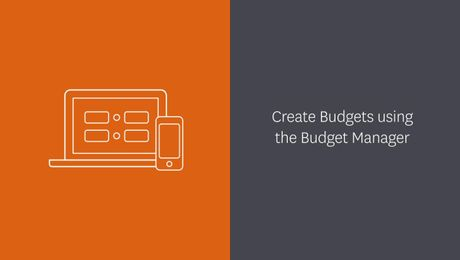 Using the Budget Manager in Xero