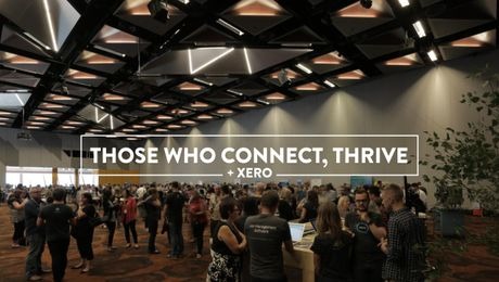Those who connect, thrive