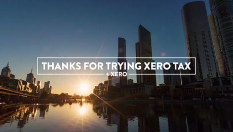 Thanks for trying Xero Tax