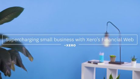 Supercharging small business with Xero's Financial Web