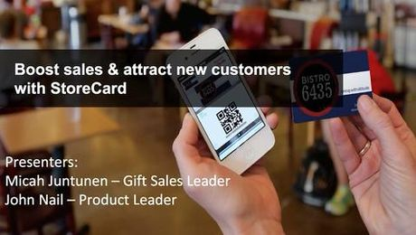 Boost sales and attract customers - StoreCard