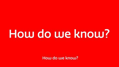 Ai - How do we know