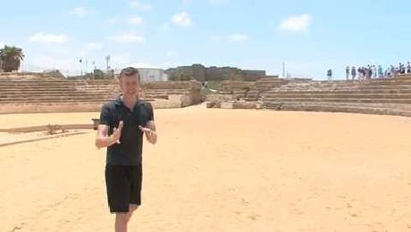 Discover the ruins of Caesarea just outside of Tel Aviv