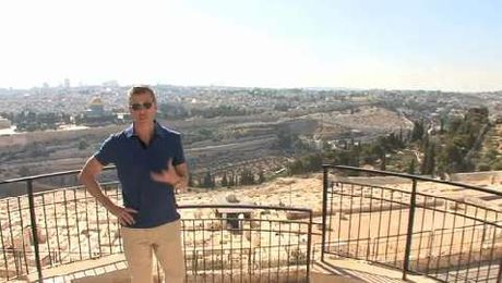 Walk around and explore the city of Jerusalem