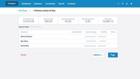 Xero Payroll - HMRC