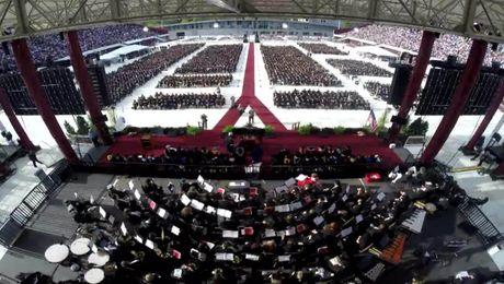 Time-lapse: Undergraduate Commencement 2018