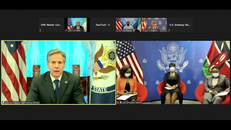 Secretary Blinken Virtual Roundtable with Kenyan and Nigerian Journalists