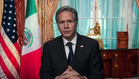 Secretary Blinken's Virtual Greeting to the U.S. Mission in Mexico.