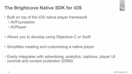 Running the app - Developing with the Native SDK for iOS