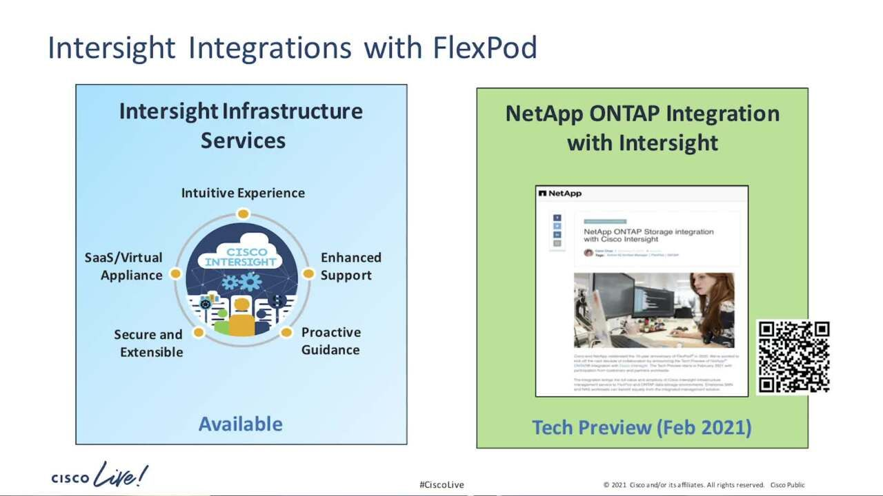 Get the Latest on the FlexPod Integration with Cisco Intersight