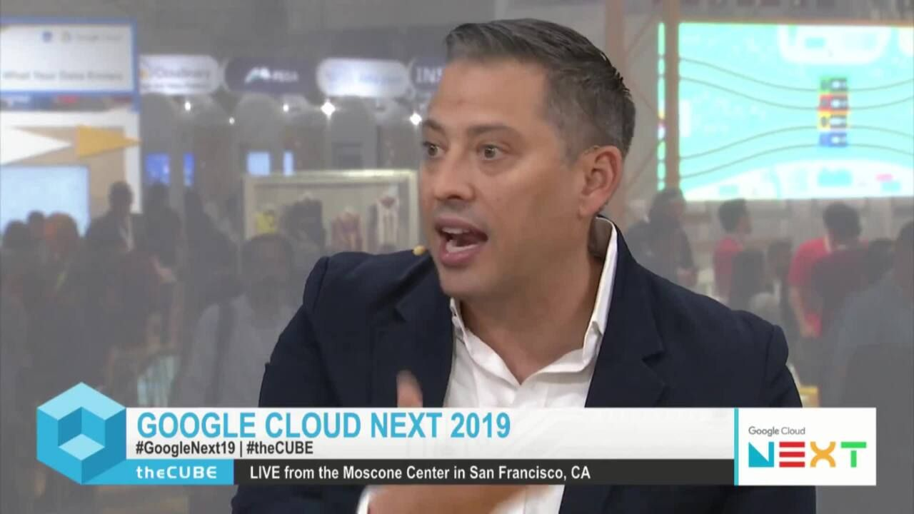 NetApp Featured on theCUBE at Google Cloud Next 19