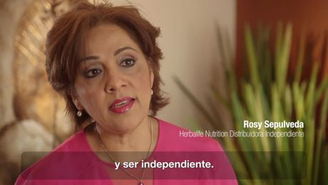Yo soy Herbalife Nutrition: Rosy Sepulveda (WHM) SUB
