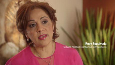Yo soy Herbalife Nutrition: Rosy Sepulveda (WHM)