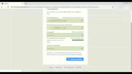 ¿Cómo crear una cuenta en MyHerbalife.com?