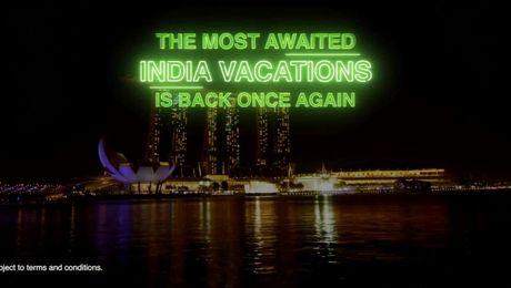 India Vacation 2021 promo
