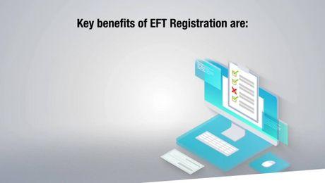 EFT Registration - Online Process