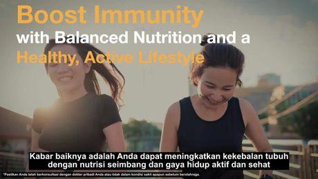 Share The Power Of Good Nutrition :  Kesehatan Sistem Imun Oleh Dr David Heber