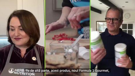 F1 Gourmet cu aromă de ciuperci &ierburi