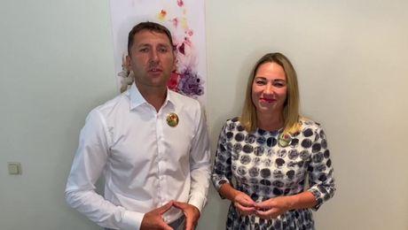 Выступление новых President`s Team, Сильвии и Мартиньша Гестес.