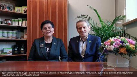 Выступление President`s Team. Алдона Дингелиене и Юозас Дингелис