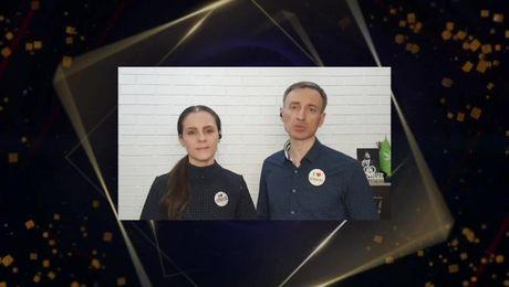 Выступление новых Millionaire Team. Егор и Наталья Титанины