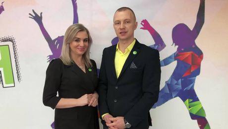 Выступление новых GET Team. Юлия и Виталий Малковы