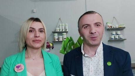 Выступление Get Team. Цира Андриадзе и Имеда Манагадзе