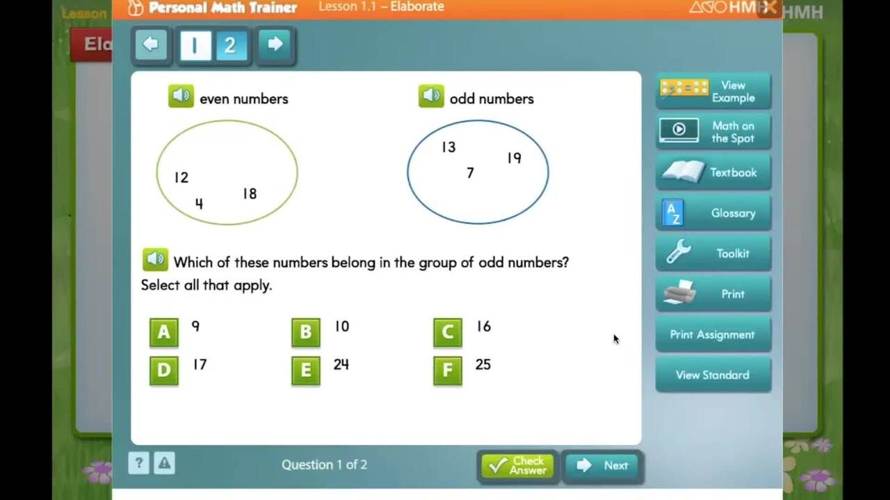 GO Math - Student Resources