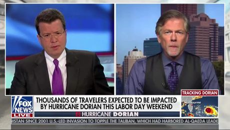 Mark Murphy on Fox News Discussing Hurricane Dorian's Impact on Travel