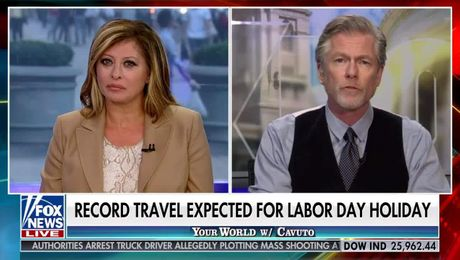 Mark Murphy on Fox News Discussing Labor Day Travel (08.21.2019)