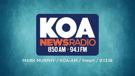 Mark Murphy on KOA iHeart Radio (09/13/18)