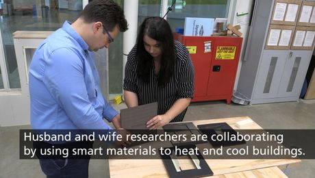 Innovative Smart Façade Technology Research at UMass Amherst